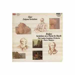 Elgar / Brahms – Pierre Monteux And The London Symphony Orchestra - Enigma Variations / Variations On A Theme By Haydn Album