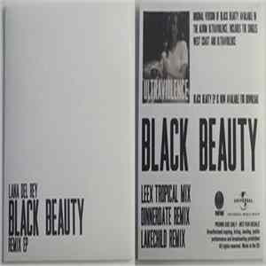 Lana Del Rey - Black Beauty Remix EP Album