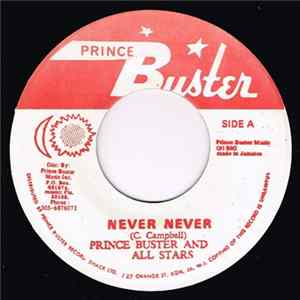 Prince Buster And All Stars / Bobby Atkins, Prince Buster & The All Stars - Never Never / Isabella Album